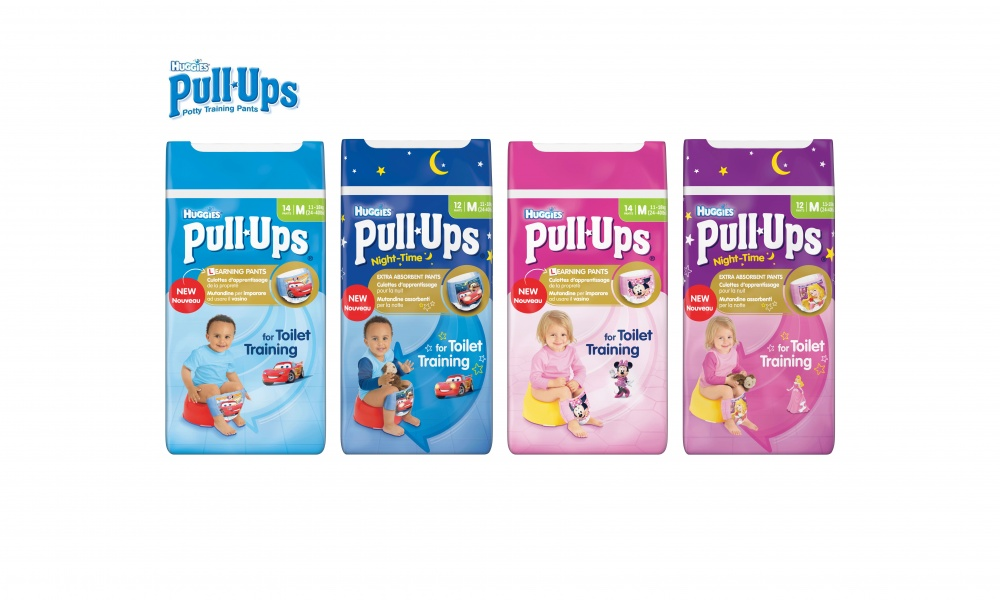 Huggies® Potty Training parties
