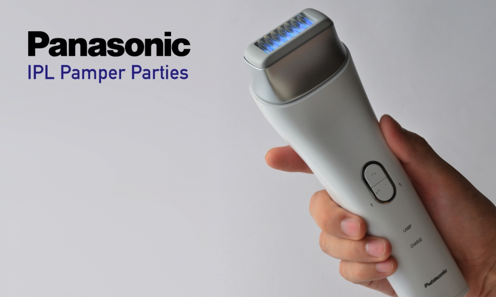 Panasonic IPL Pamper Parties