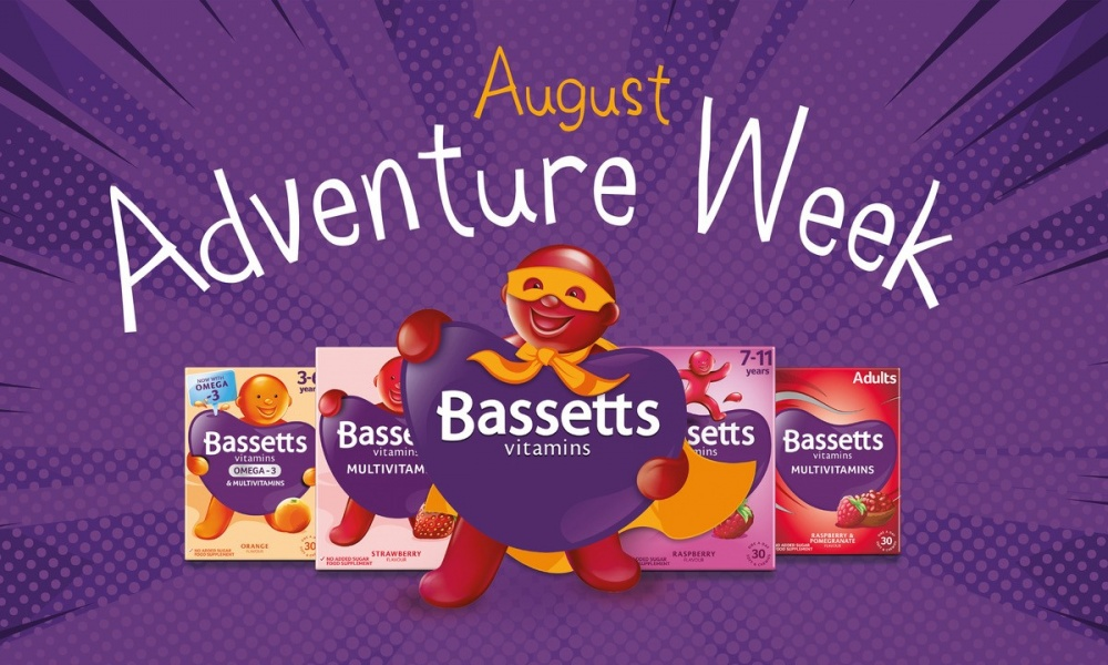 Bassetts Vitamins August Adventure Week Parties