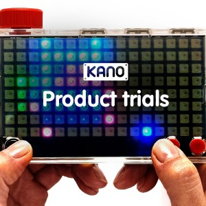 Kano Pixel Kit Trials