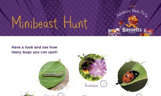 Bassetts Vitamins Party - Minibeast Hunt