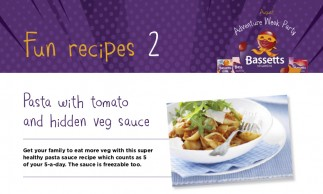 Bassetts Vitamins - Pasta with Tomato & Hidden Veg