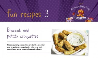 Bassetts Vitamins - Broccoli & Potato Croquettes