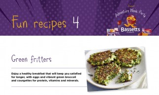 Bassetts Vitamins - Green Fritters