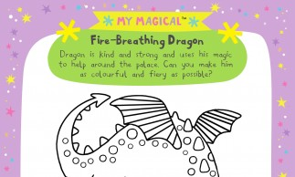 Campbell Books - A4 Dragon Colouring Sheets